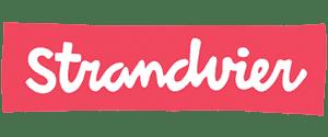 Het logo van strandvier