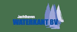 Het logo van het bedrijf jachthaven waterkant.